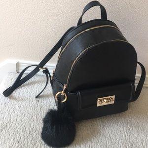 Zara backpack w/ Pompom